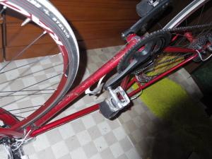 ダーティーな自転車