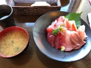 お昼の下田丼:1400円